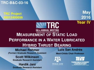 Automation of Compressor Test Rig  Design Presentation