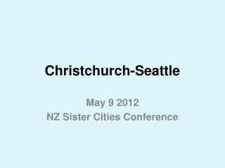 Christchurch-Seattle
