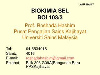 BIOKIMIA SEL BOI 103