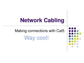 Network Cabling