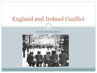 England and Ireland Conflict