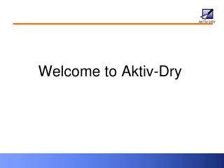 Welcome to Aktiv-Dry