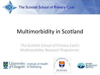 Multimorbidity in Scotland