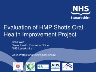 Evaluation of HMP Shotts Oral Health Improvement Project