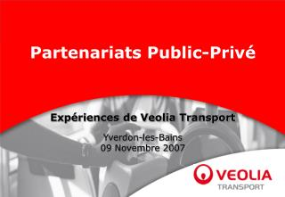 Partenariats Public-Priv
