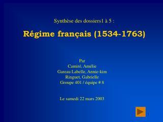 Par Camir , Am lie Gareau Labelle, Annie-kim Ringuet, Gabrielle Groupe 401