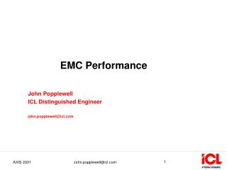 EMC Performance