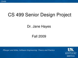CS 499 Senior Design Project