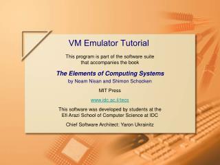 VM Emulator Tutorial