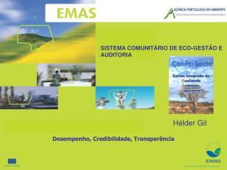 SISTEMA COMUNIT RIO DE ECO-GEST O E AUDITORIA