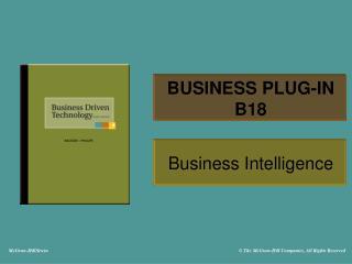 BUSINESS PLUG-IN B18