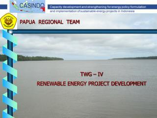 TWG   IV RENEWABLE ENERGY PROJECT DEVELOPMENT
