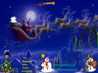 Frohe Weihnacht und ein gesegnetes neues Jahr w nschen Euch