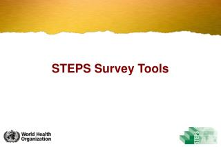 STEPS Survey Tools