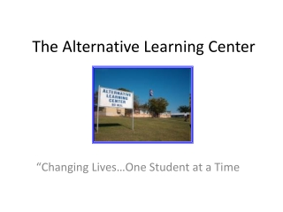 ALC Parent Orientation Slideshow