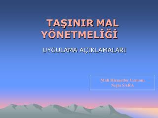 TASINIR MAL Y NETMELIGI