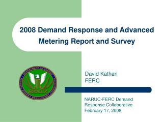 2008 Demand Response and Advanced Metering Report and Survey