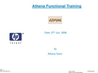 Athena Functional Training