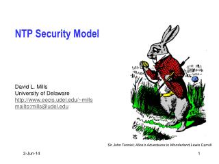 NTP Security Model