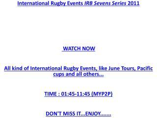 IRB Sevens Live*** RUGBY FINAL@ Sevens Series Live Stream Ru