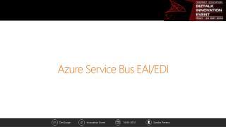 Azure Service Bus EAI