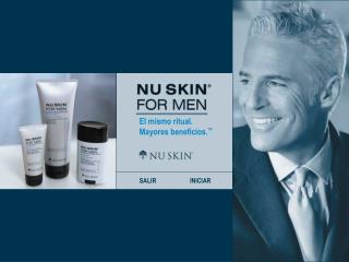 Nu Skin  for Men. El mismo ritual. Mayores beneficios.