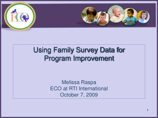 Analyzing Family Outcomes  Survey Data