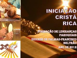 INICIA  O CRIST   RICA