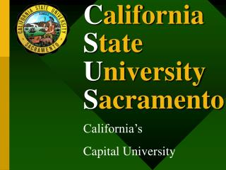 California State University Sacramento