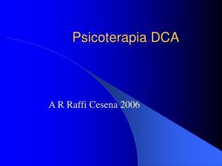 Psicoterapia DCA
