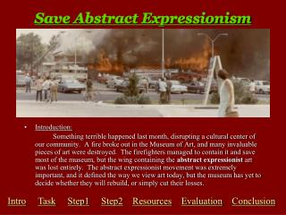 Save Abstract Expressionism