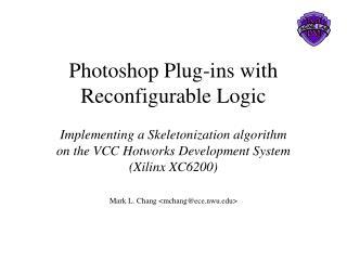 Photoshop Plug-ins with Reconfigurable Logic