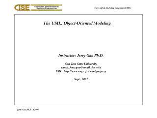 Jerry Gao Ph.D. 9