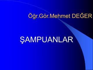 gr.G r.Mehmet DEGER