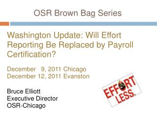 OSR Brown Bag Series