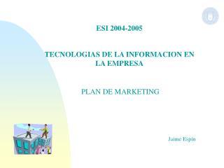 ESI 2004-2005