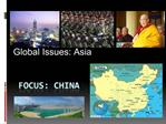Global Issues: Asia