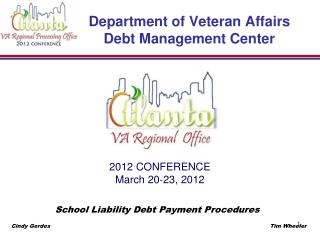 Department of Veteran Affairs Debt Management Center