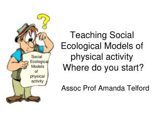 Teaching Social Ecological Models of physical activity  Where do you start