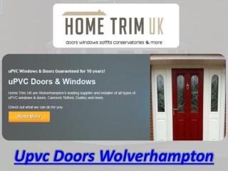Upvc Doors Wolverhampton