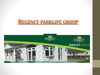 regency park life group presentation