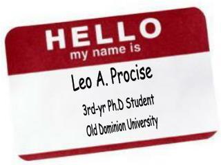Leo A. Procise