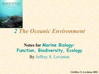 2 The Oceanic Environment