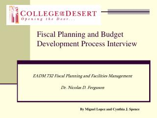 Fiscal Planning and Budget Development Process Interview