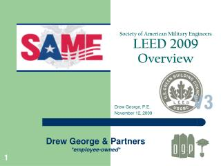 Society of American Military Engineers LEED 2009 Overview