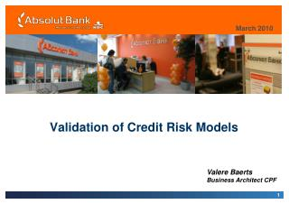 Validation of Credit Risk Models