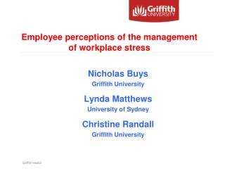 Griffith Health