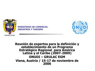 Reuni n de expertos para la definici n y establecimiento de un Programa Estrat gico Regional  para Am rica Latina y el C