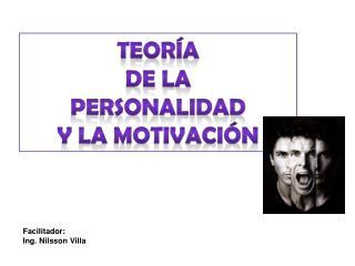 Teor a de la Personalidad y la motivaci n
