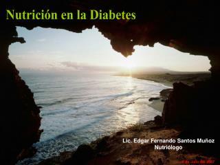 Nutrici n en la Diabetes